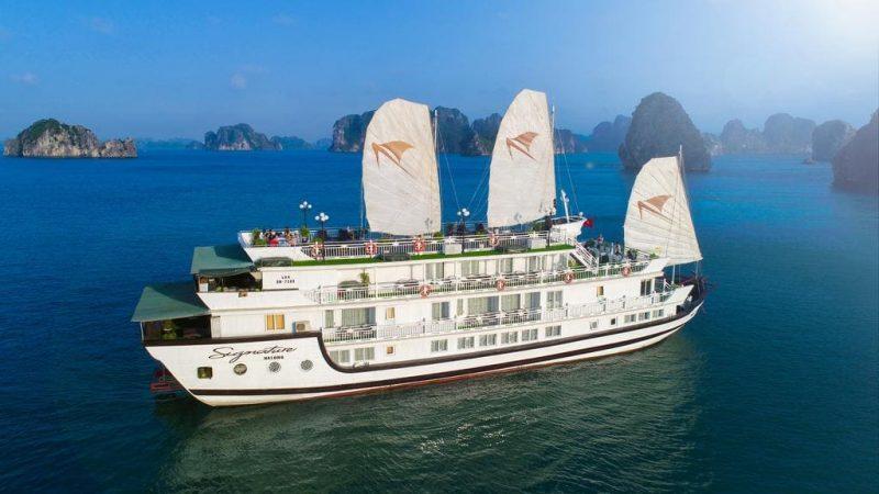 Tour du thuyền Signature Hạ Long Cruise 2 ngày 1 đêm
