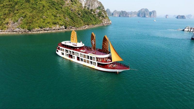 Tour du thuyền Emperor Nha Trang