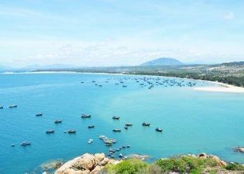 Một góc bãi biển Quang Phú- sưu tầm
