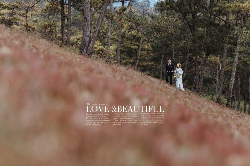 chụp ảnh cưới ngoại cảnh tại đà lạt