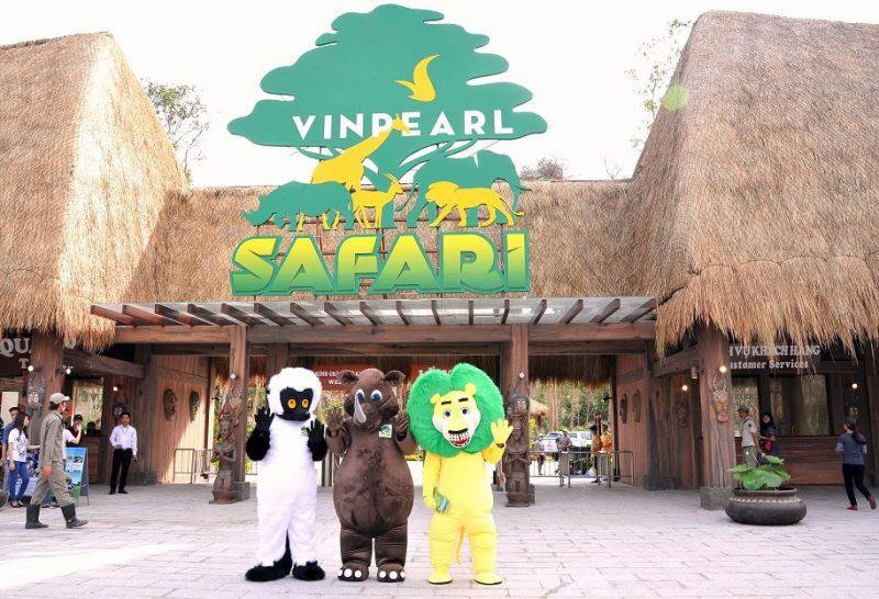 vinpearl safari phú quốc có gì chơi