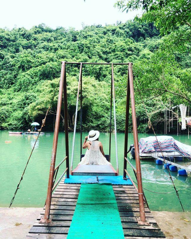 Zipline sông Chày Vui chơi giải trí ở Quảng Bình