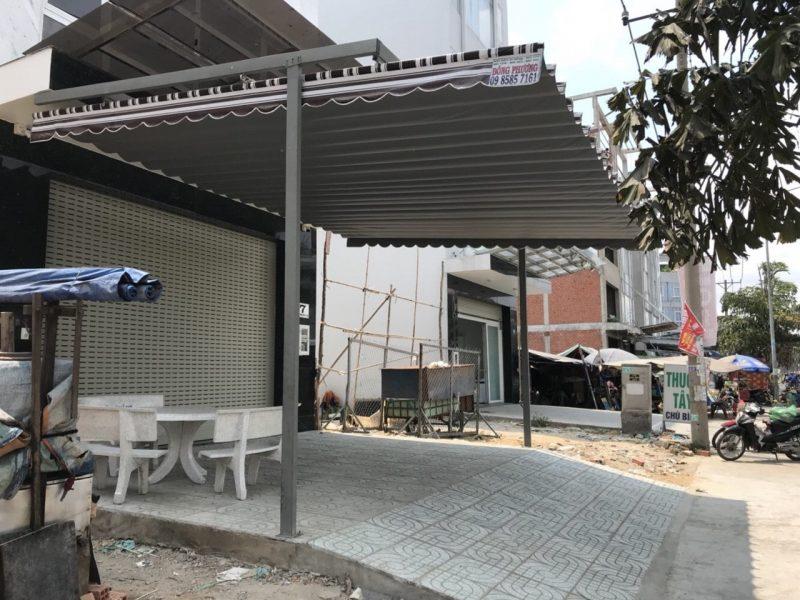 Dịch vụ lắp đặt mái hiên di động Sài Gòn