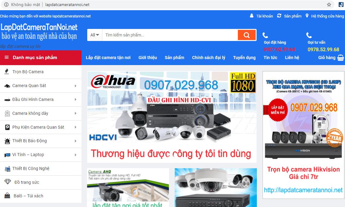 Dịch Vụ Lắp Đặt Camera Tận Nơi Sài Gòn