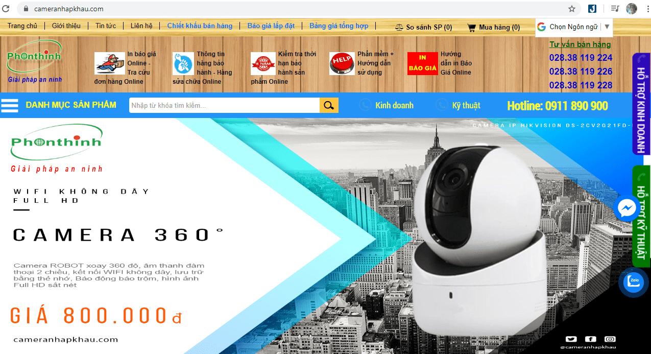Dịch Vụ Lắp Đặt Camera Bảo Mật Sài Gòn