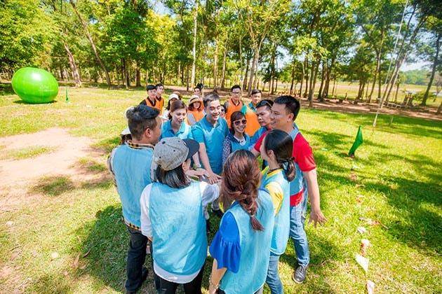 công ty tổ chức team building tại Nha Trang