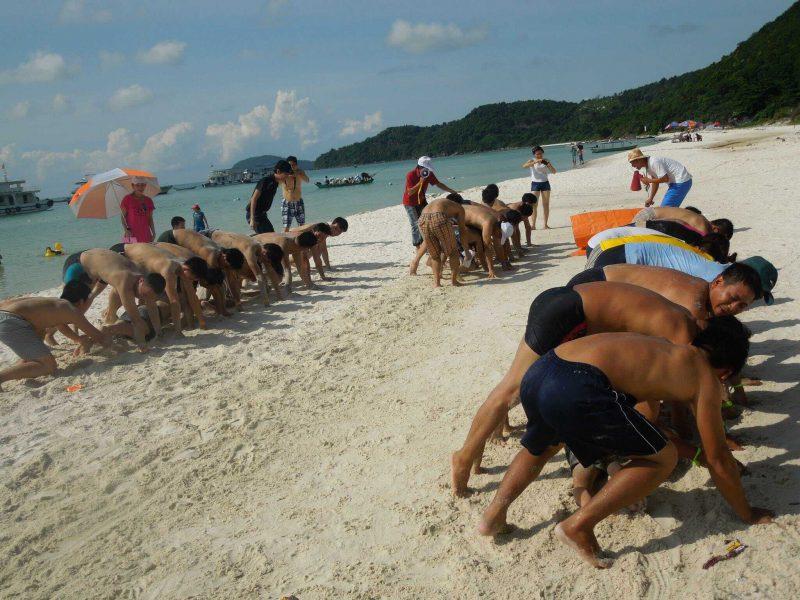 địa chỉ tổ chức team building ở đảo Phú Quốc