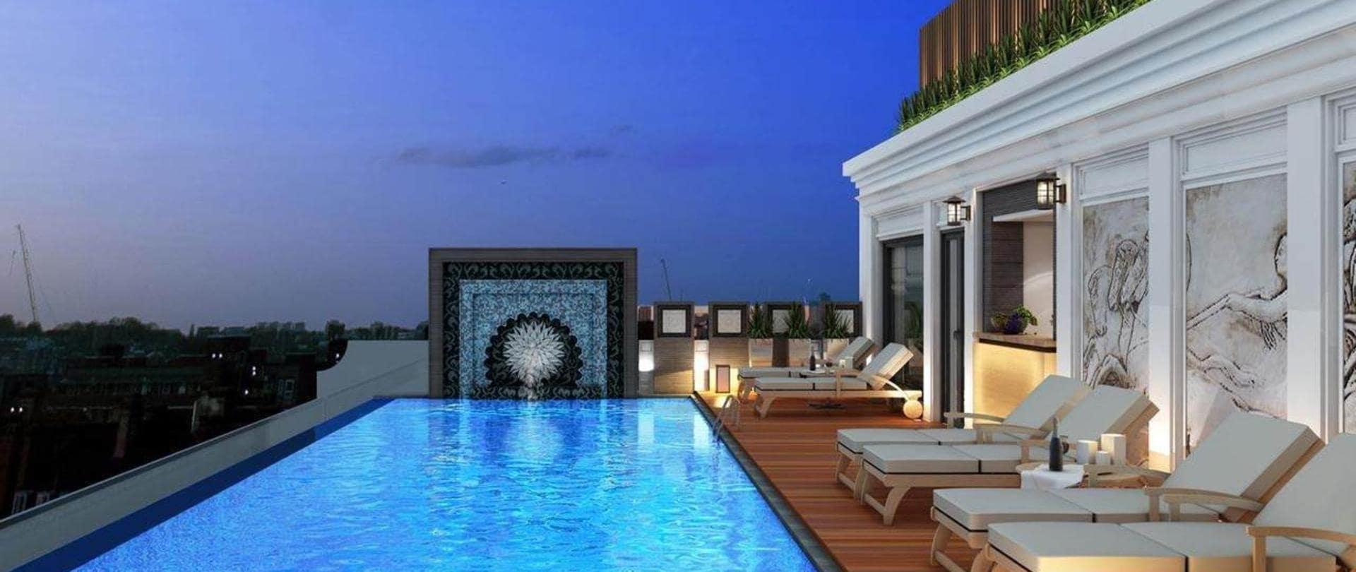 khách sạn 4 sao hà nội có bể bơi