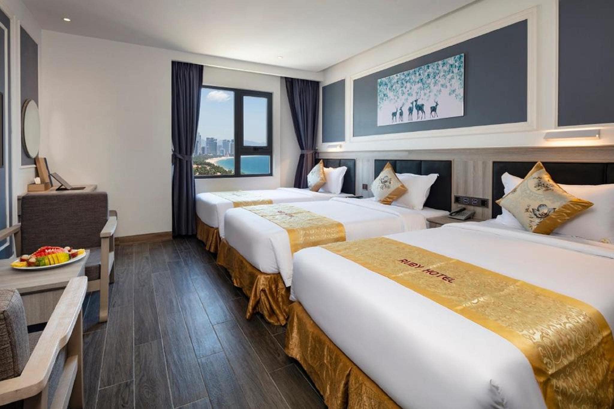 Khách Sao 4 Sao Đẹp Ở Nha Trang - Ruby Hotel Nha Trang