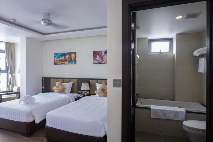Khách sạn Nha Trang có bồn tắm