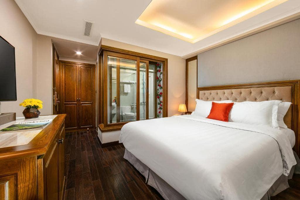 khách sạn hà nội có bồn tắm