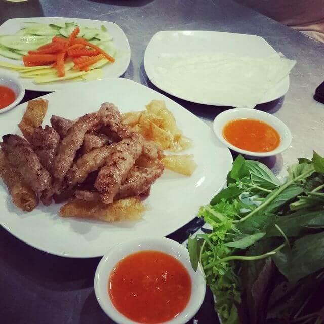 Quán Nem Nướng Tại Nha Trang