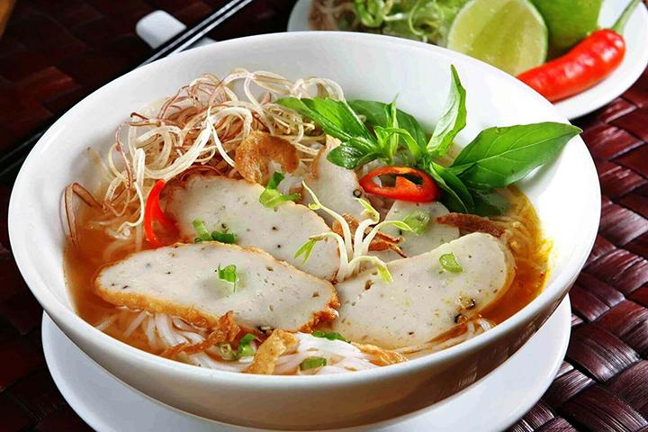 bún cá ngon ở Nha Trang